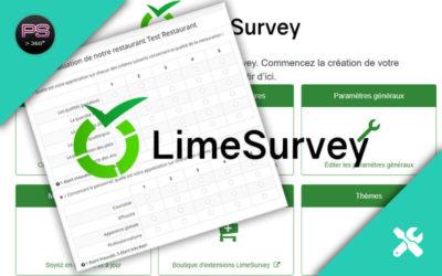 LimeSurvey : Un logiciel de sondage