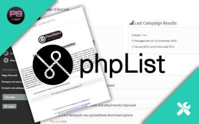 phpList : Un logiciel newsletter