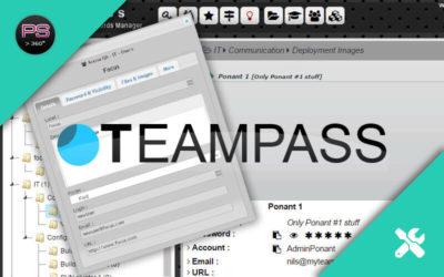 TeamPass : Un logiciel de gestion de mots de passe